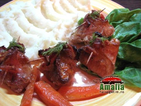Saculeti din carne cu ciuperci (IMG 3972)   imagine reteta