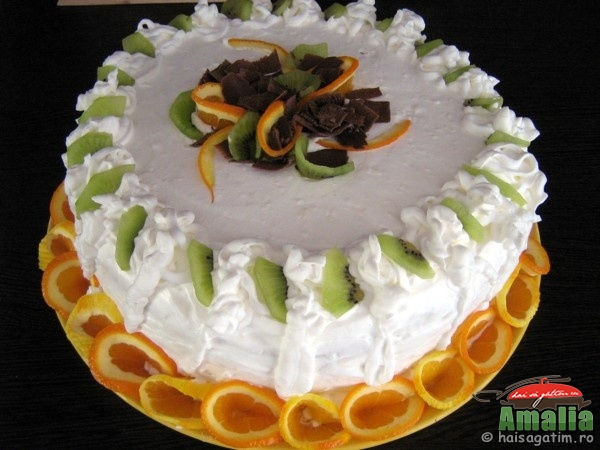 Tort cu portocale (tort cu portocale 0)   imagine reteta