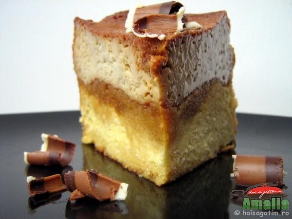Tort cu crema de zahar ars (IMG 0281)   imagine reteta
