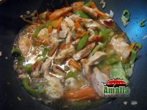 Pui la wok (pui la wok 5 290x217)   imagine reteta