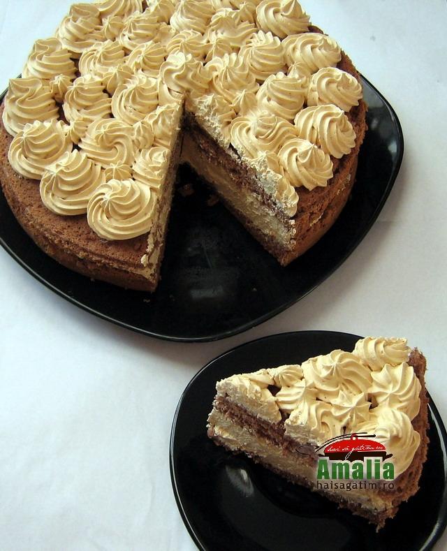Tort cu crema caramel (IMG 197333)   imagine reteta
