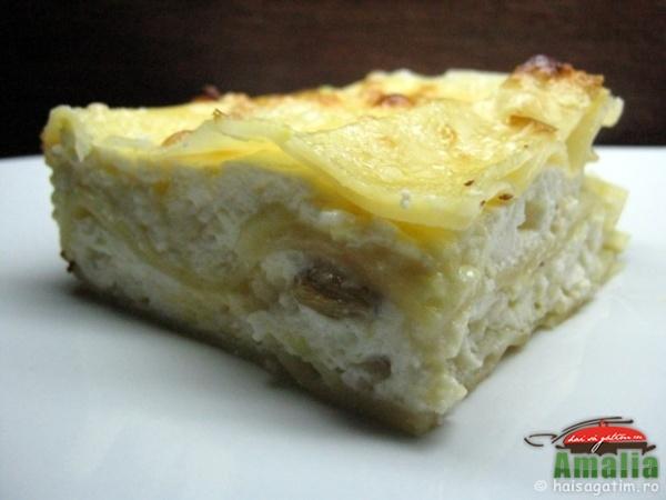 Lasagna cu branza dulce (lasagna0)   imagine reteta