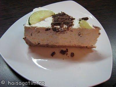 Tort de limette cu branza (102)   imagine reteta