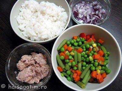 Salata cu orez, legume si ton (IMG 0326)   imagine reteta