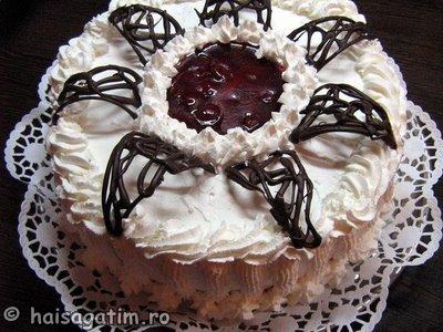 Tort cu iaurt si frisca 2 (IMG 0476)   imagine reteta