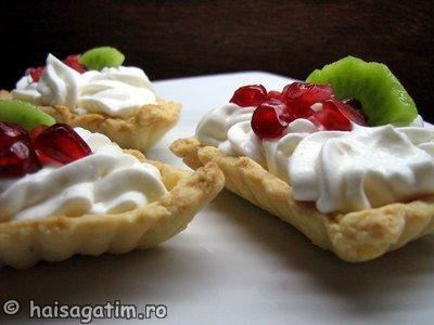 Tarte cu fructe din aluat fraged (IMG 08766)   imagine reteta