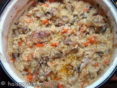 Pilaf de orez cu pui (IMG 26500)   imagine reteta