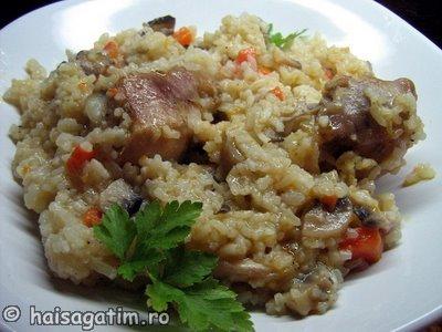 Pilaf de orez cu pui (IMG 26555)   imagine reteta