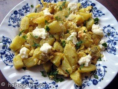 Mancare rapida cu ou si cartofi (IMG 30599)   imagine reteta