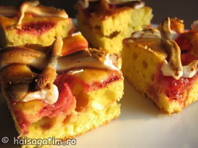 Prajitura cu fructe (capsuni) (IMG 4443)   imagine reteta