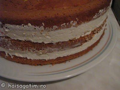 Tort cu iaurt si frisca (IMG 5458)   imagine reteta