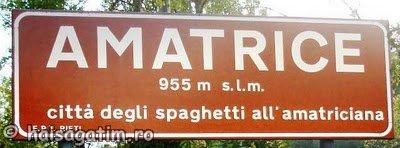 Spaghetti allAmatriciana (amatrice)   imagine reteta