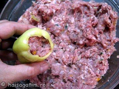 Ardei umpluti cu carne (ardei3)   imagine reteta