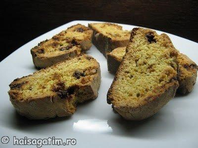 Biscotti cu ciocolata (biscotti0)   imagine reteta