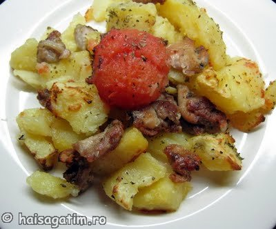 Pui cu oregano si cartofi (cartofor1)   imagine reteta