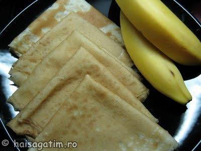 Clatite cu banane (clatiteban1)   imagine reteta