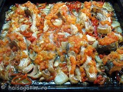 Peste cu legume la cuptor (crap9)   imagine reteta