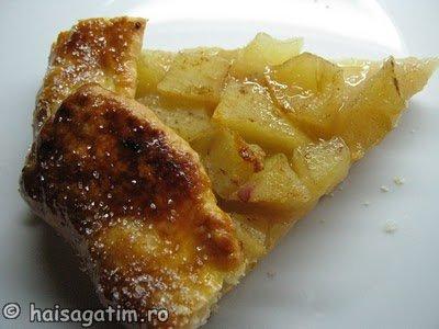 Tarta rustica ( galette) cu mere (galette0)   imagine reteta