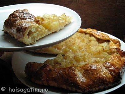 Tarta rustica ( galette) cu mere (galette01)   imagine reteta