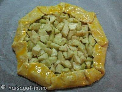 Tarta rustica ( galette) cu mere (galette4)   imagine reteta