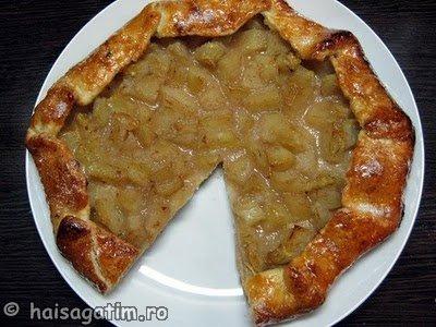 Tarta rustica ( galette) cu mere (galette5)   imagine reteta