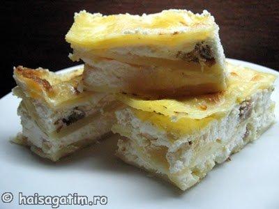 Lasagna cu branza dulce (lasagna011)   imagine reteta