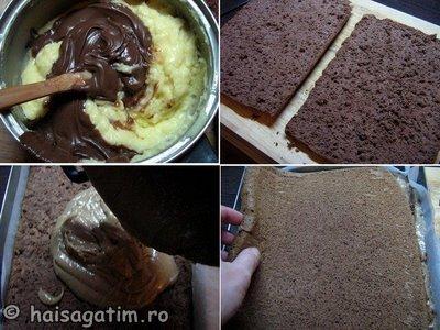 Prajitura cu crema de nutella (nutella2)   imagine reteta