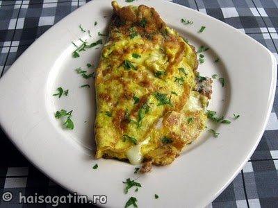 Omleta cu branza (oml01)   imagine reteta