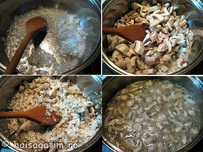 Orez cu ciuperci 2 (orez11)   imagine reteta