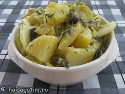 Salata de fasole si cartofi (salatafas0)   imagine reteta