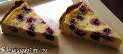 Tarta cu branza dulce si visine   Alina (tar22)   imagine reteta