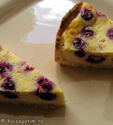 Tarta cu branza dulce si visine   Alina (tar3)   imagine reteta