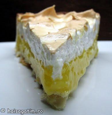 Tarta cu lamaie si bezea (Lemon meringue pie) (tarta0)   imagine reteta
