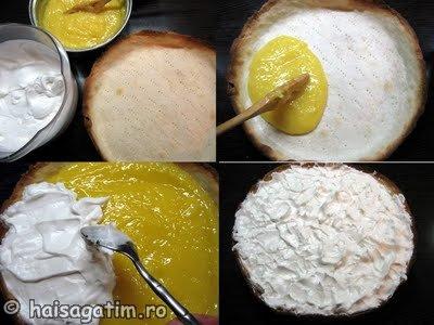 Tarta cu lamaie si bezea (Lemon meringue pie) (tartal15)   imagine reteta