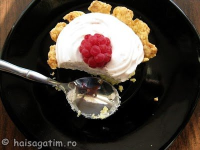 Tarte fragede cu crema de iaurt si frisca (tarte01)   imagine reteta