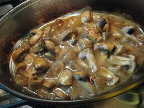 Cotlet de porc cu ciuperci (IMG 02371 290x217)   imagine reteta