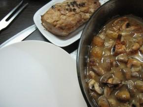 Cotlet de porc cu ciuperci (IMG 0239 290x217)   imagine reteta