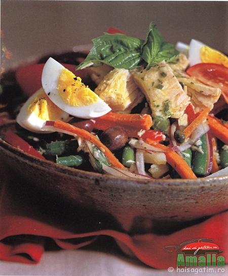 Salata Nicoise (reteta salata 2)   imagine reteta