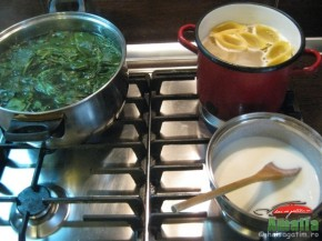Paste scoici umplute cu spanac si urda (pastescoici21 290x217)   imagine reteta