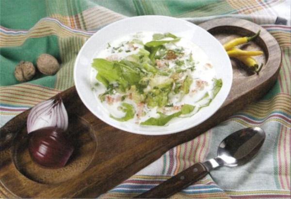 Ciorba de salata verde   ardeleneasca (reteta noua1)   imagine reteta