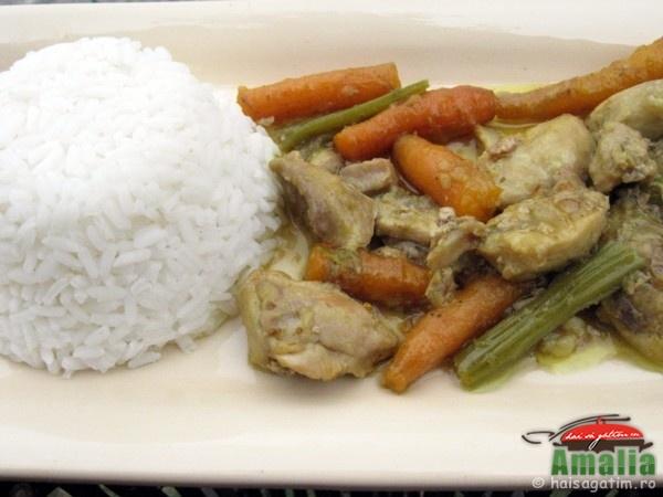 Pui cu curry si morcovi (puicucurry3)   imagine reteta