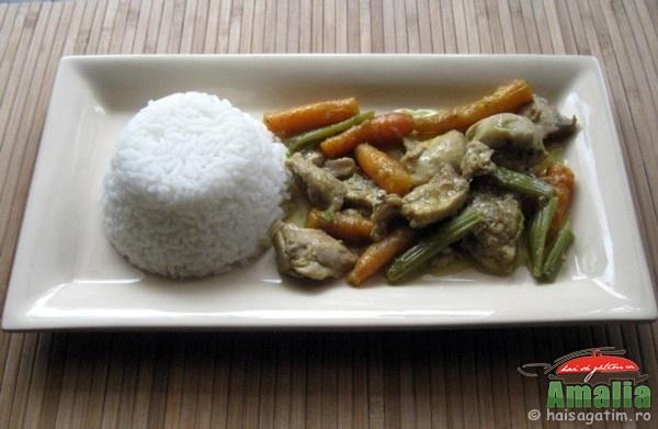 Pui cu curry si morcovi (puicurry0)   imagine reteta