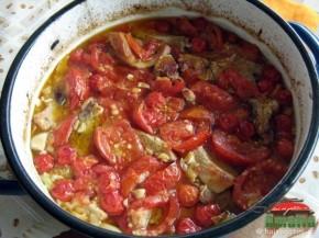 Costita de porc cu legume (costitaculegume5 290x217)   imagine reteta