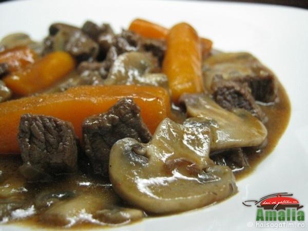 Vitel cu morcovi si ciuperci (vitelcumorcovisiciuperci1)   imagine reteta
