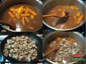 Vitel cu morcovi si ciuperci (vitelcumorcovisiciuperci2 290x217)   imagine reteta