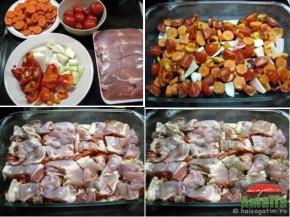 Pui cu legume si orez la cuptor (pulpedepiculegume1 290x217)   imagine reteta