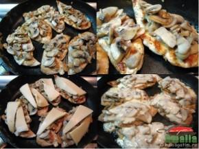 Piept de pui la gratar cu ciuperci si cascaval (pieptdepui3 290x217)   imagine reteta