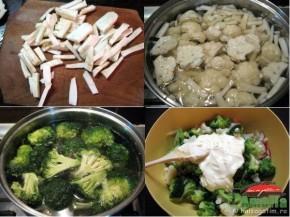 Salata de brocoli si conopida (salatacuconopidasibrocoli2 290x217)   imagine reteta