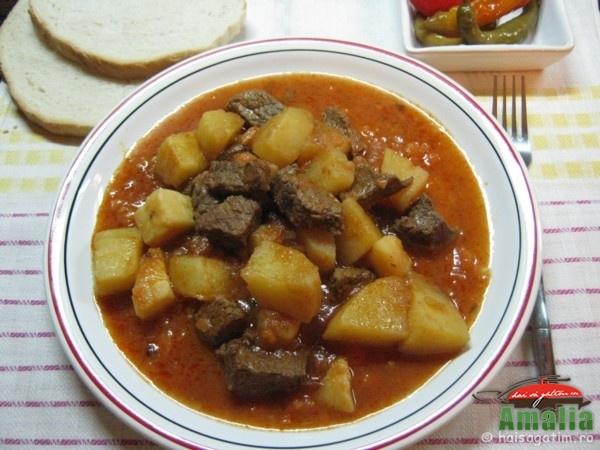 Tocanita de vita cu cartofi (tocanita de vita cu cartofi 0)   imagine reteta