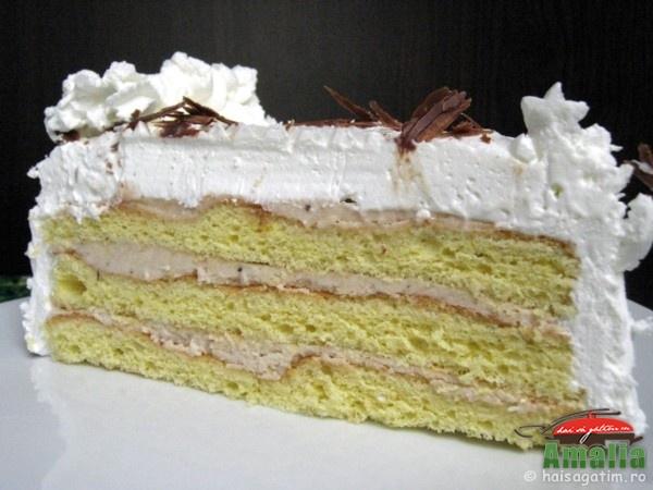 Tort cu crema de castane (tort cu crema de castane 0)   imagine reteta